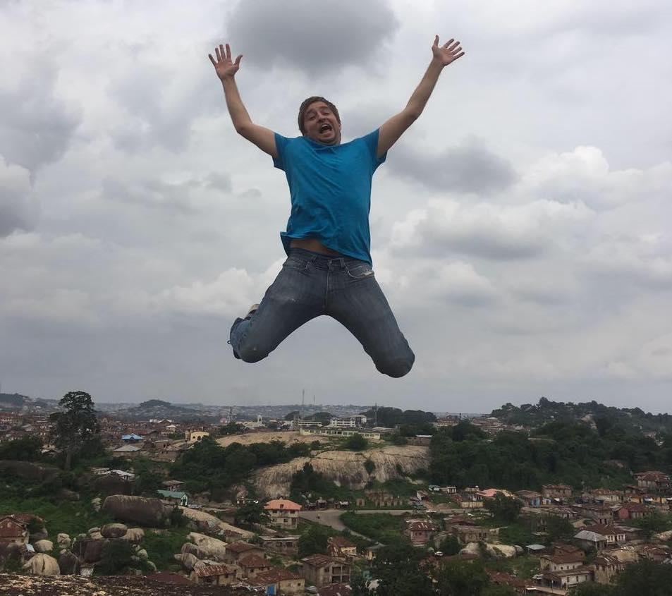ian jumping