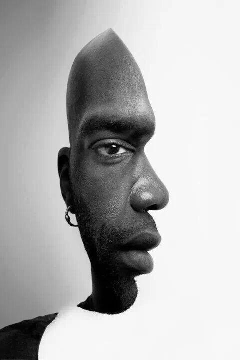 optical illusion face
